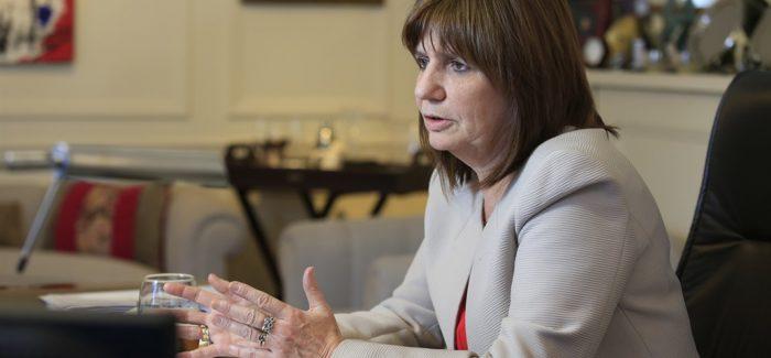 Patricia Bullrich, sobre el enfrentamiento en Villa Mascardi: «Se terminó la impunidad de la que gozaron tantos años»