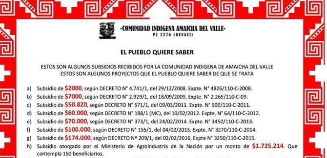 AMAICHA DEL VALLE, TUCUMÁN y 9 años de corrupción.