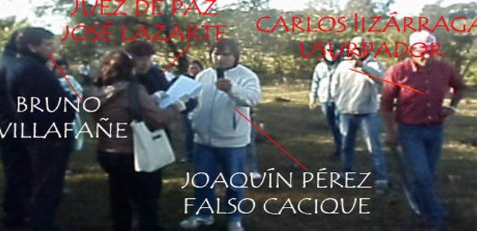 Complicidad del Juez de Paz de Lules con falsos indígenas