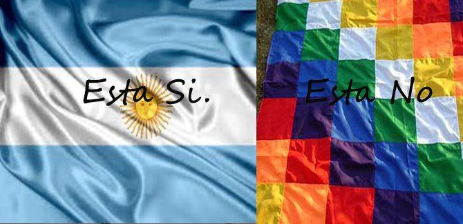 Pide el veto a la ley de bandera Indígena. Tucumán, Argentina