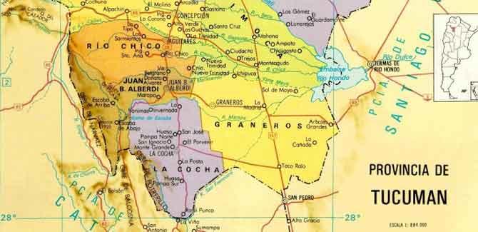 Los lules de San Miguel de Tucumán en el siglo XVI – XVII – Encomiendas – 4º parte