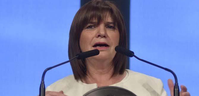 """Patricia Bullrich: """"No vamos a permitir una república autónoma mapuche en medio de la Argentina"""""""