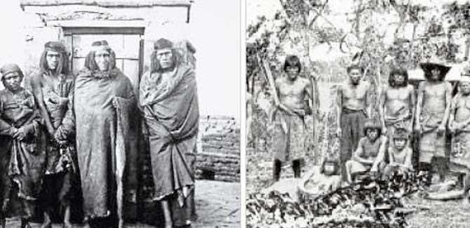 El Mito de los pueblos originarios